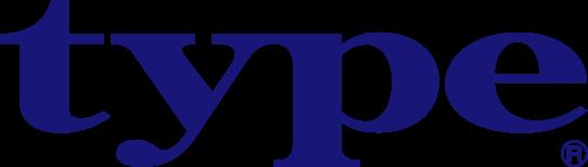 タイプのロゴ
